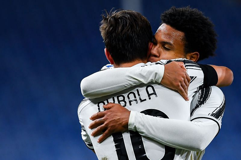 Juventus will be boosted by the return of the trio