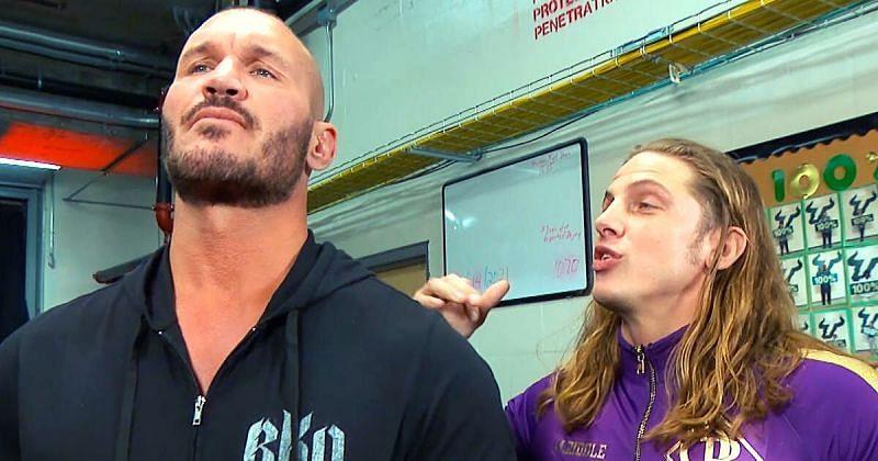 Randy Orton and Matt Riddle.