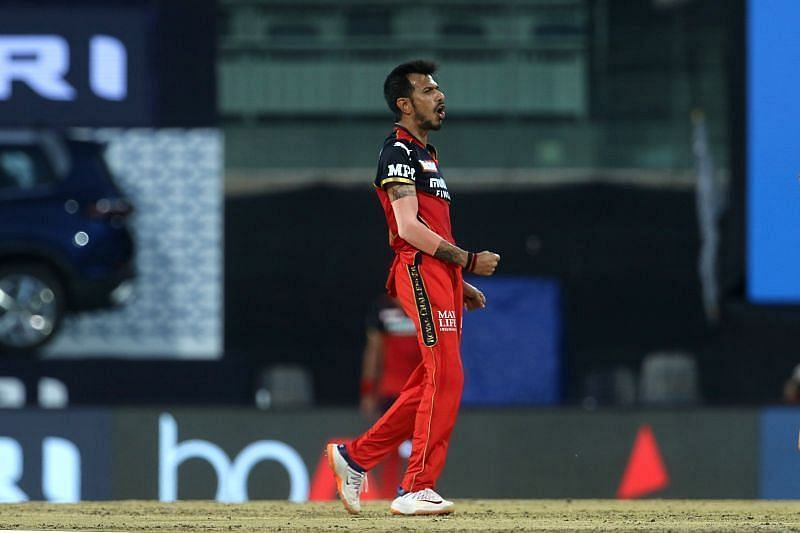 Yuzvendra Chahal will be looking to pick up more wickets for RCB
