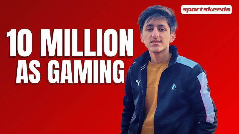 AS Gaming has hit 10 million subscribers on YouTube (Image via Sportskeeda)
