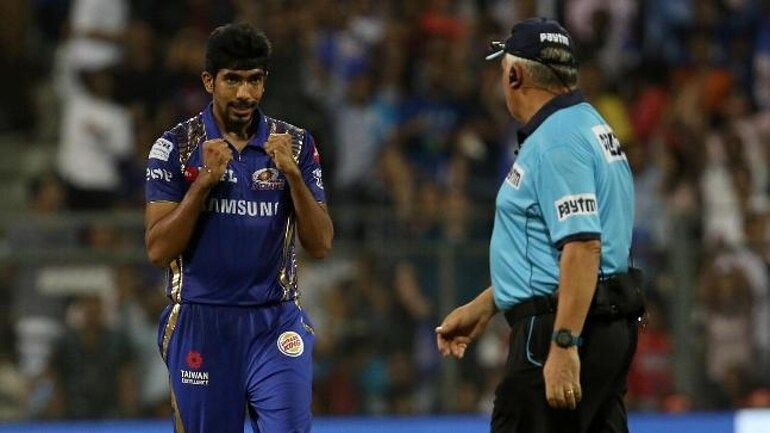 Jasprit Bumrah picked up 3 wickets for 15 runs against Punjab in 2018.