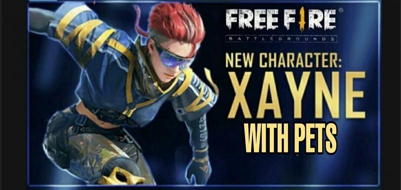 Free Fire का सबसे ताकतवर Xayne करैक्टर (Image credit. sportskeeda)