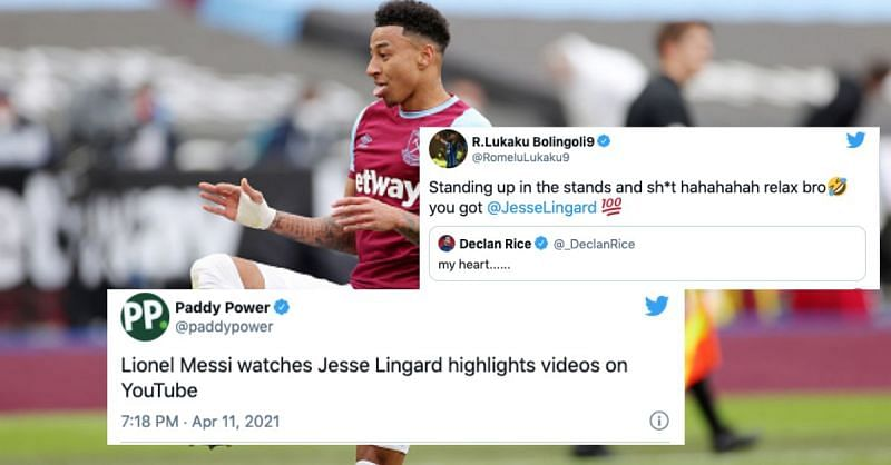 Jesse Lingard has been on fire for West Ham United