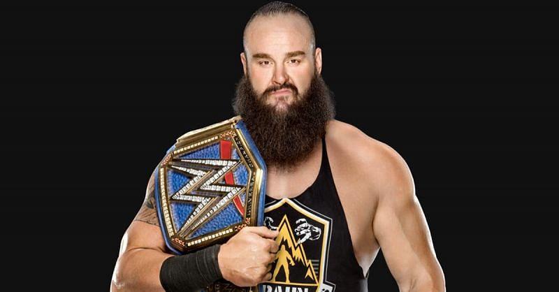 WWE यूनिवर्सल चैंपियन ब्रॉन स्ट्रोमैन