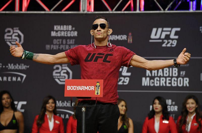 UFC 229 Tony Ferguson