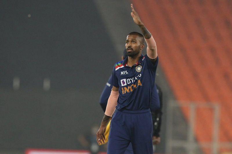 Hardik Pandya impressed with the ball against England.