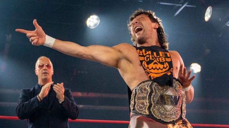 Kenny Omega has become the new IMPACT Wrestling Champion