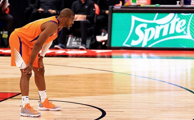 Chris Paul with the Phoenix Suns