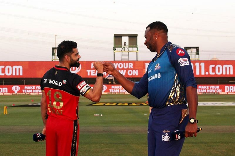 The Royal Challengers Bangalore will cross swords with the Mumbai Indians in the first game of IPL 2021 (Image courtesy: IPLT20.com)