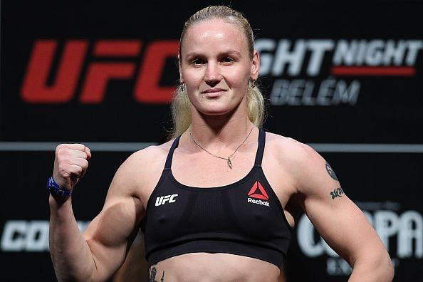 Valentina Shevchenko will be in action this weekend against Jessica Andrade