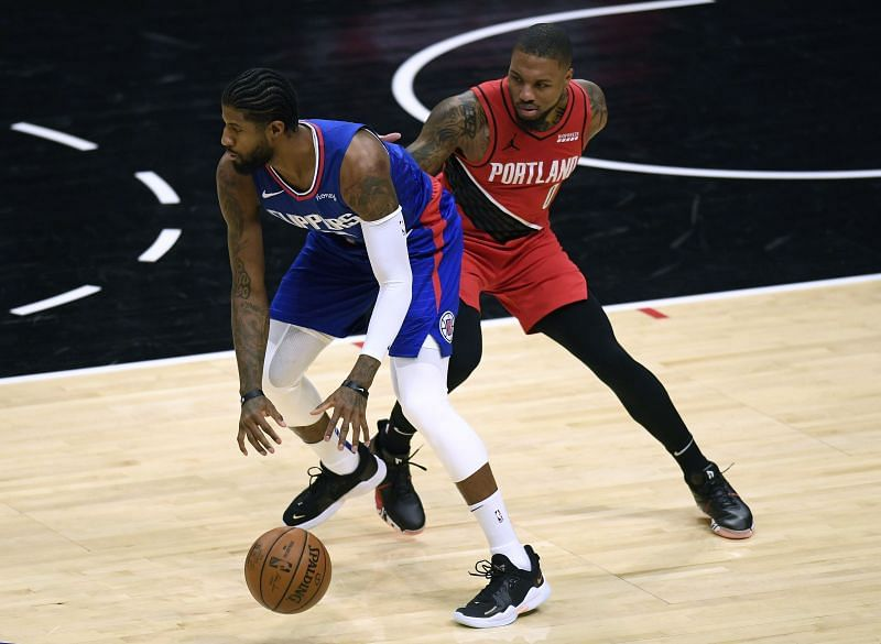 The next installment of Paul George vs Damian Lillard will take place on Tuesday