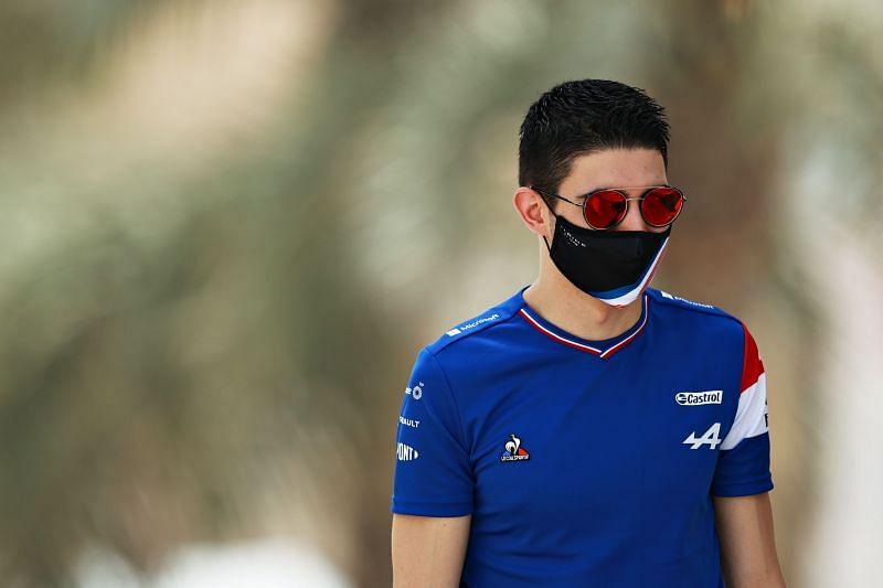 Esteban Ocon needs to make a statement at the Imola Grand Prix. Photo: Mark Thompson/Getty Images.