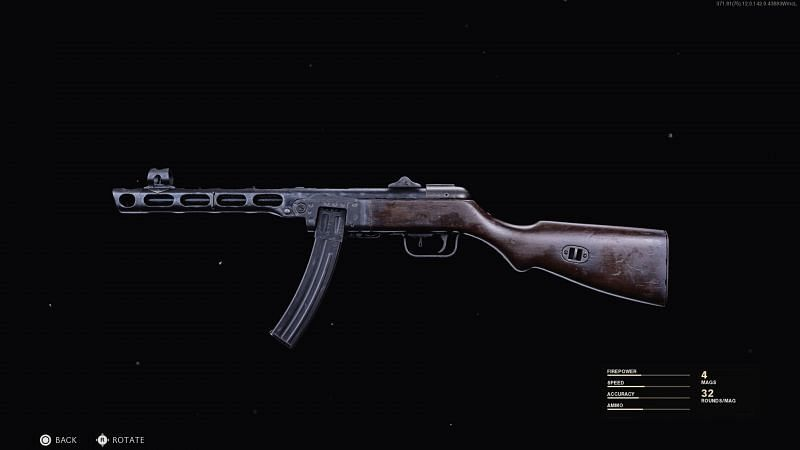 Attachments should enhance speed and compensate for drop-off or recoil of the PPSH-41 in Black Ops Cold War (Image via Activision)