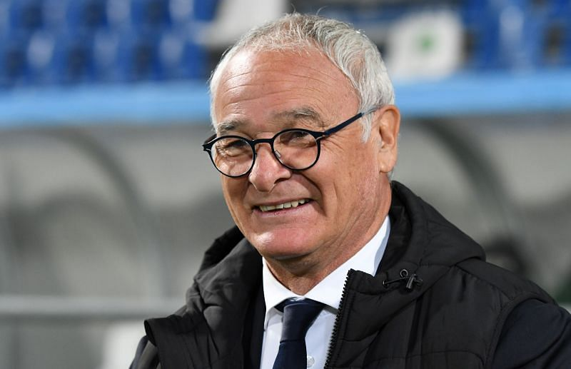 Claudio Ranieri has an almost fully-fit squad for the game against Roma