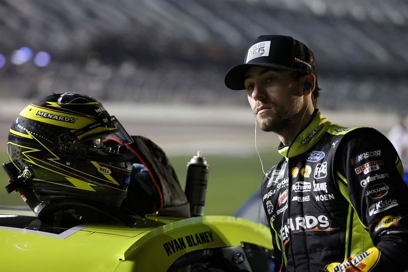 Ryan Blaney waits his turn to qualify for the Daytona 500 (Photo: Chris Graythen, Getty Images)