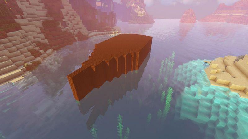Building skeleton in Minecraft