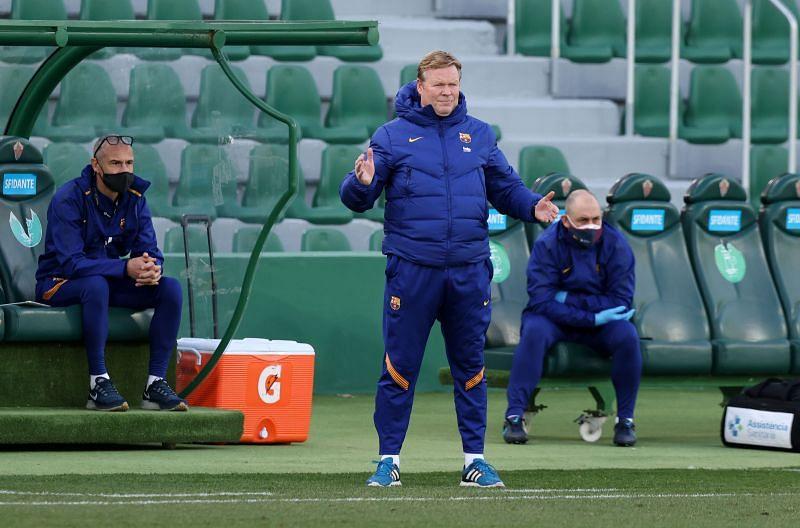 Koeman wants new defenders at Barcelona