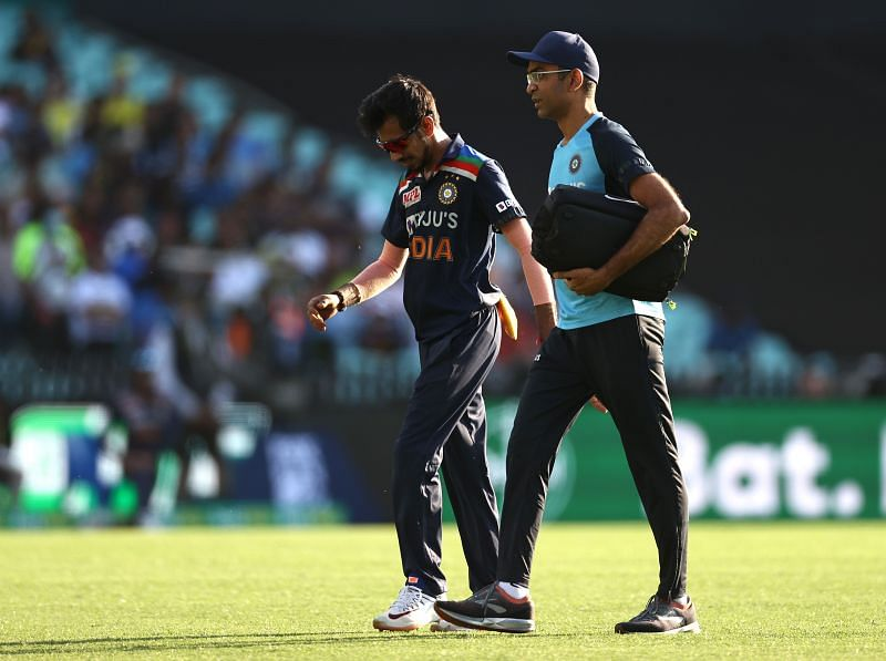 Recent troubles: Yuzvendra Chahal would love to spark up some form in the IPL