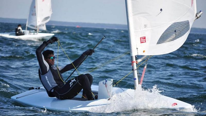 Vishnu Saravanan is one of four Indian sailors to take part in Tokyo Olympics. (Source: Olympic Channel)