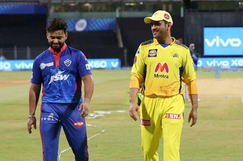 Rishabh Pant leading the Delhi Capitals against CSK. Picture Credits - IPL