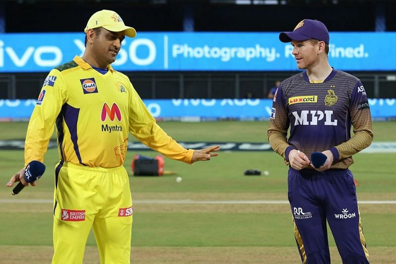The Chennai Super Kings and the Kolkata Knight Riders had a nail-biting encounter in Mumbai (Image Courtesy: IPLT20.com)