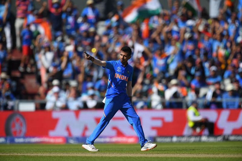 Chahal has gone down the pecking order