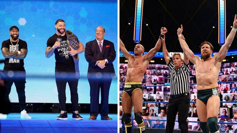 An eventful SmackDown