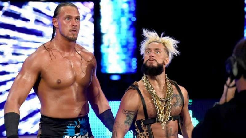 Big Cass and Enzo Amore in WWE