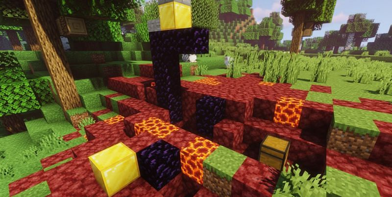 Ruined Portals in Minecraft: Everything players need to know