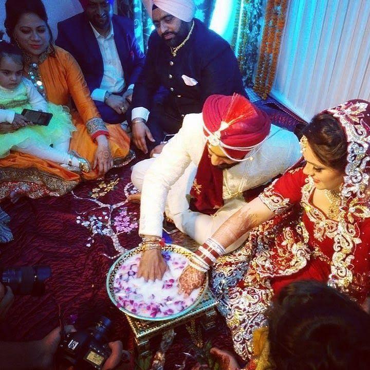 Mandeep Singh and Jagdeep Jaswal's Wedding Rituals Pics