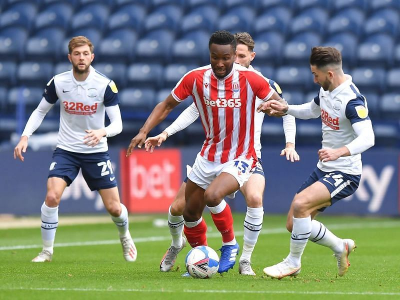 Stoke City beat Preston earlier in the season, ending a run of three consecutive losses