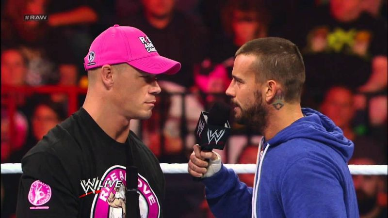 John Cena and CM Punk shared a memorable rivalry (Credit: WWE)
