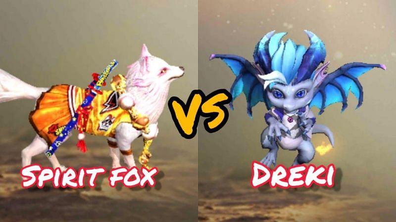 Spirit Fox vs Dreki