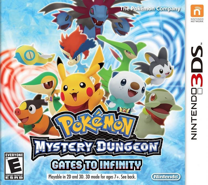 Pokemon Mystery Dungeon: Gates to Infinity (Image via The Pokemon Company)