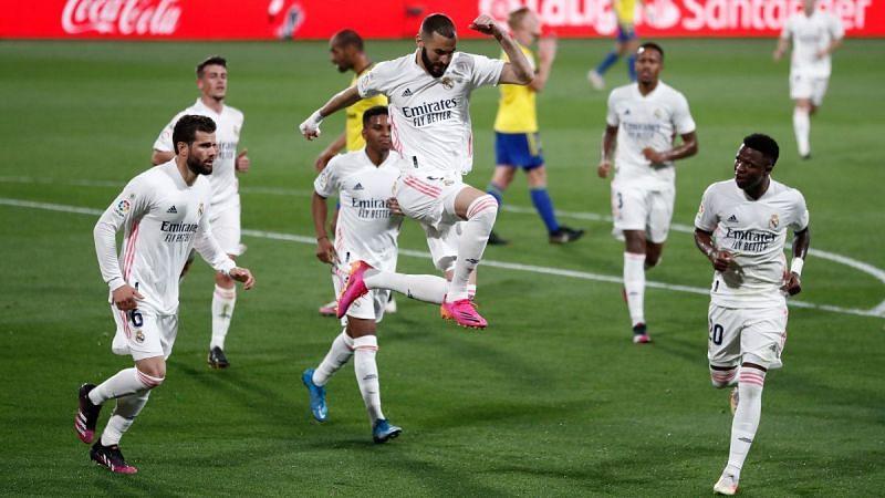 Real Madrid thrashed Cadiz 3-0 in La Liga