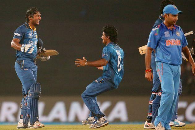 श्रीलंका को जीत दिलाने के बाद कुमार संगकारा