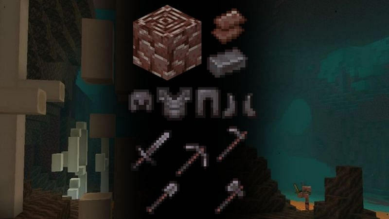 Netherite can be applied to both weapons and armor in Minecraft, but it is very rare to get (Image via Lizardrock)