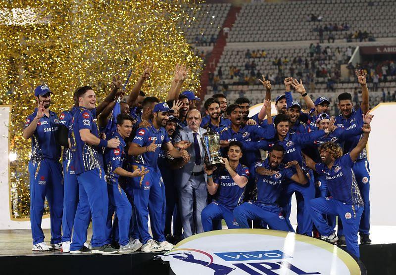 Mumbai Indians have won the IPL five times.