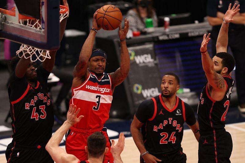 Toronto Raptors in NBA 2020-21 action