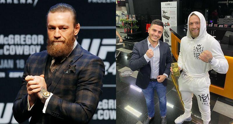 Former UFC double champion Conor McGregor