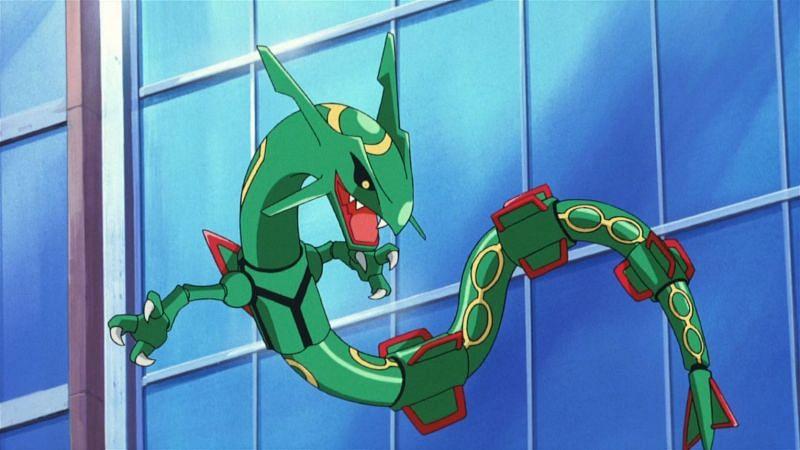 Rayquaza, a Legendary Pokemon from Hoenn (Image via The Pokemon Company)