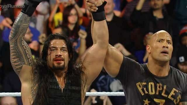Even The Rock could not prevent fans from booing Roman Reigns