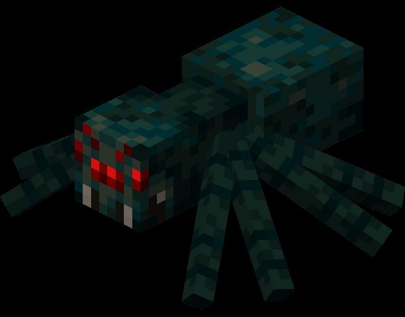 Cave spider color (Image via Minecraft.gamepedia)