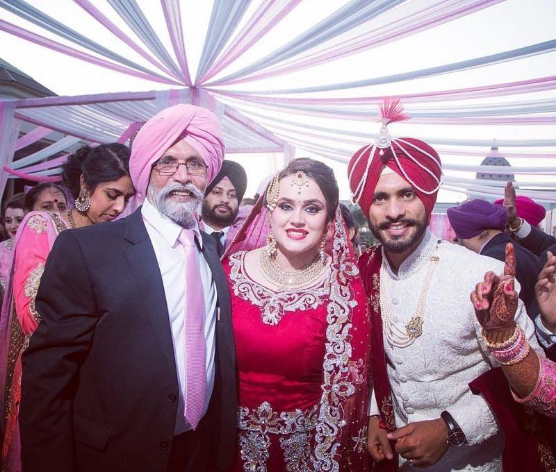 Mandeep Singh and Jagdeep Jaswal's wedding photos