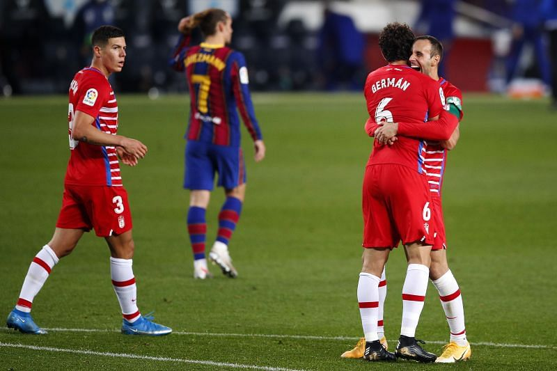 FC Barcelona vs Granada CF - La Liga Santander