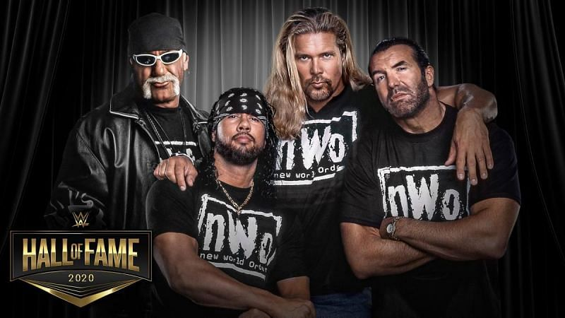 All four nWo inductees have previously received WWE Hall of Fame inductions