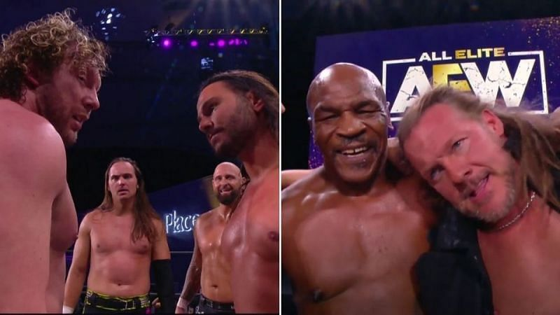 Mike Tyson returned on AEW Dynamite while The Young Bucks made a big decision