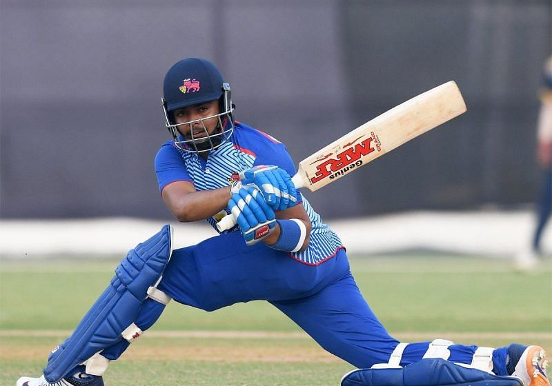 Shaw was on fire in the Vijay Hazare Trophy 2021.