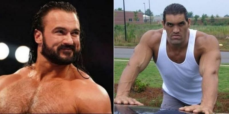 Drew McIntyre and The Great Khali