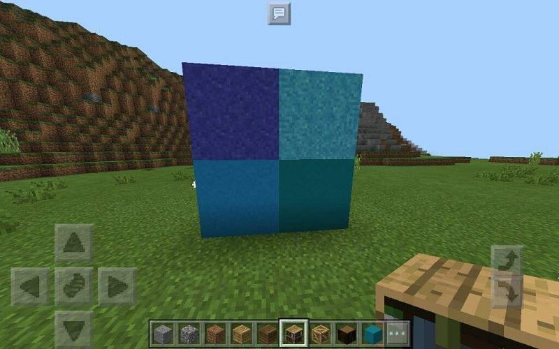 Colorful Minecraft concrete powder (Image via amino)